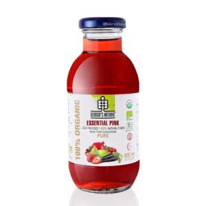 Organic Essential Pink Juice 300ml - 100 Nước Hỗn Hợp Rau Củ Hồng 300ml - Sản phẩm hữu cơ, nhập khẩu