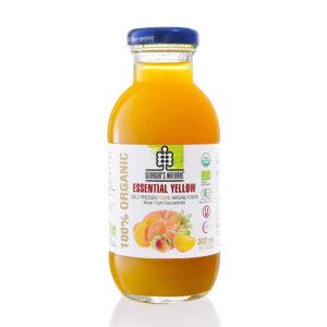 Organic Essential Yellow Juice 300ml - 100 Nước Hỗn Hợp Rau Củ Vàng 300ml - Sản phẩm hữu cơ, nhập khẩu