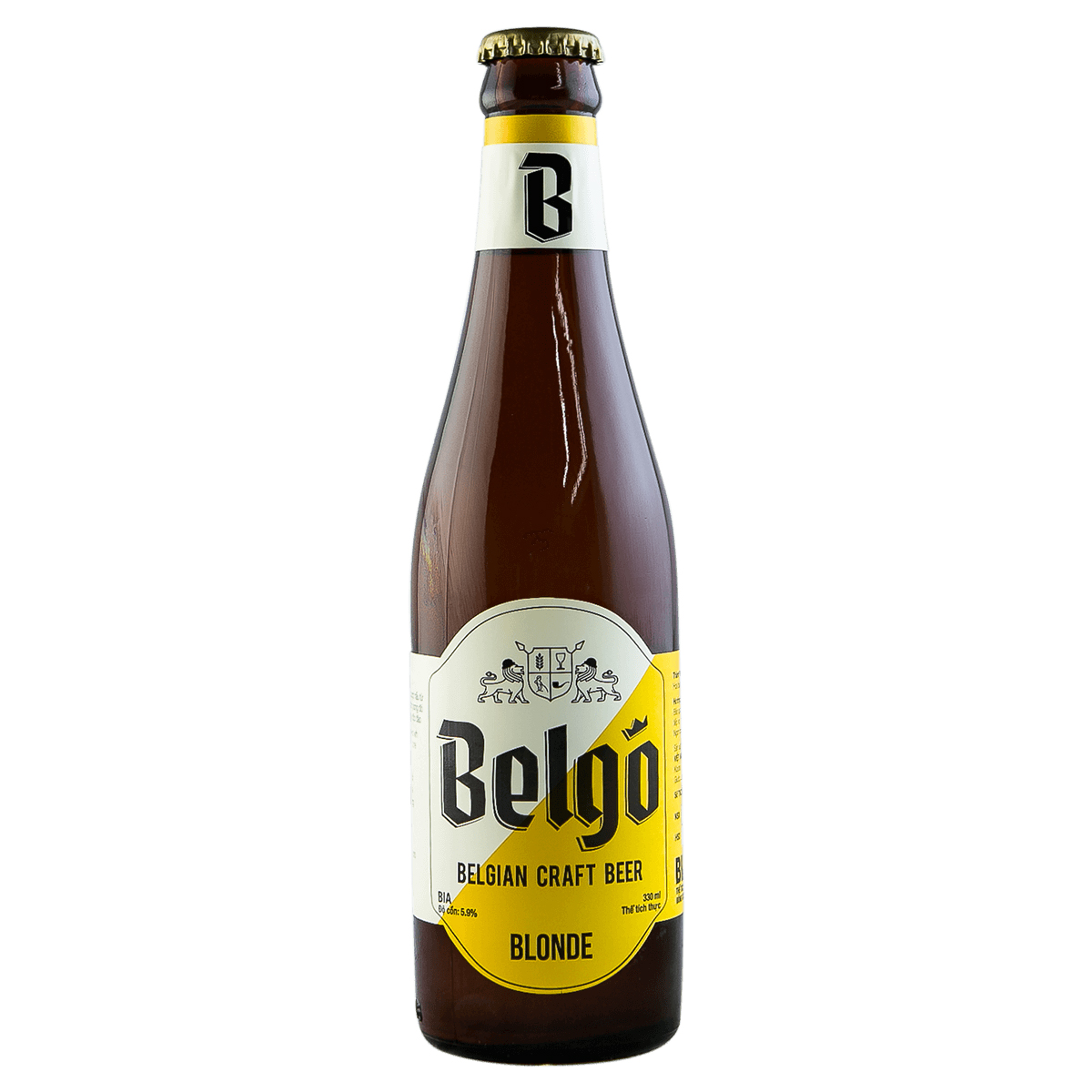 Bia Belgo Blonde 330ml
