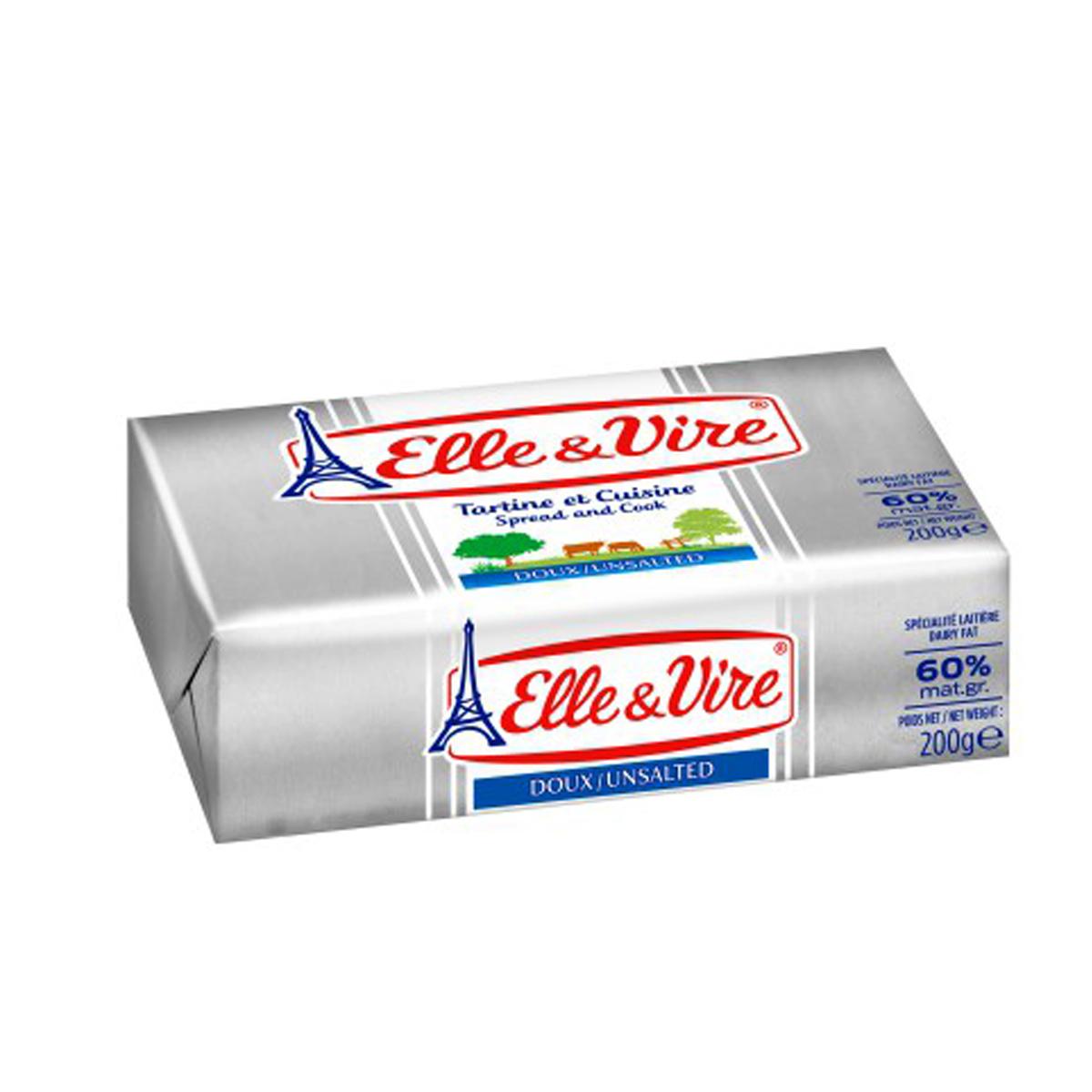 Bơ lạt Elle Vire 200g