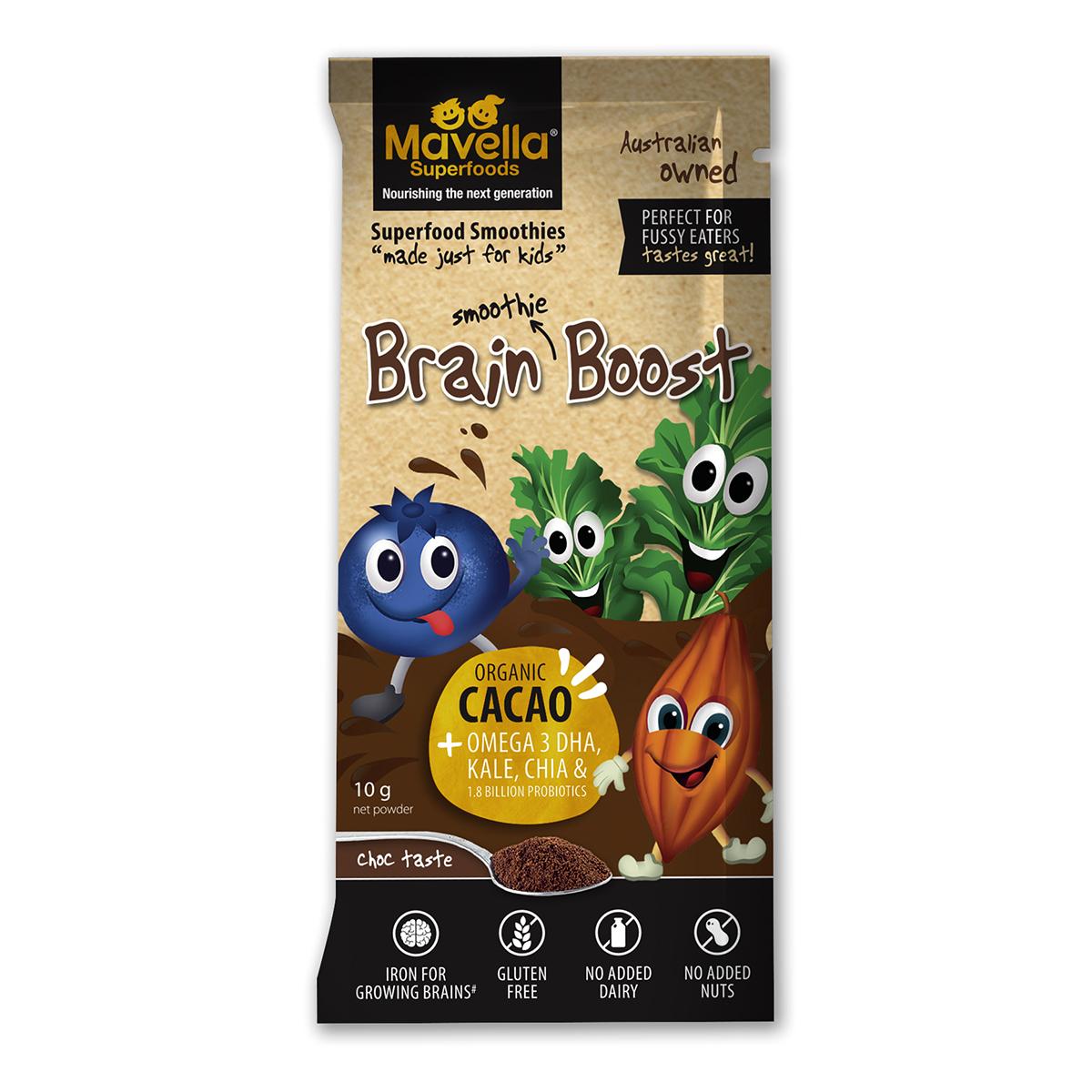Bột cacao hạnh nhân phát triển trí não hiệu Mavella 10g