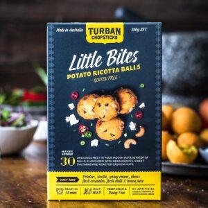 Bột chiên giòn khoai tây Ricotta Balls hiệu Turban Chopsticks 200g