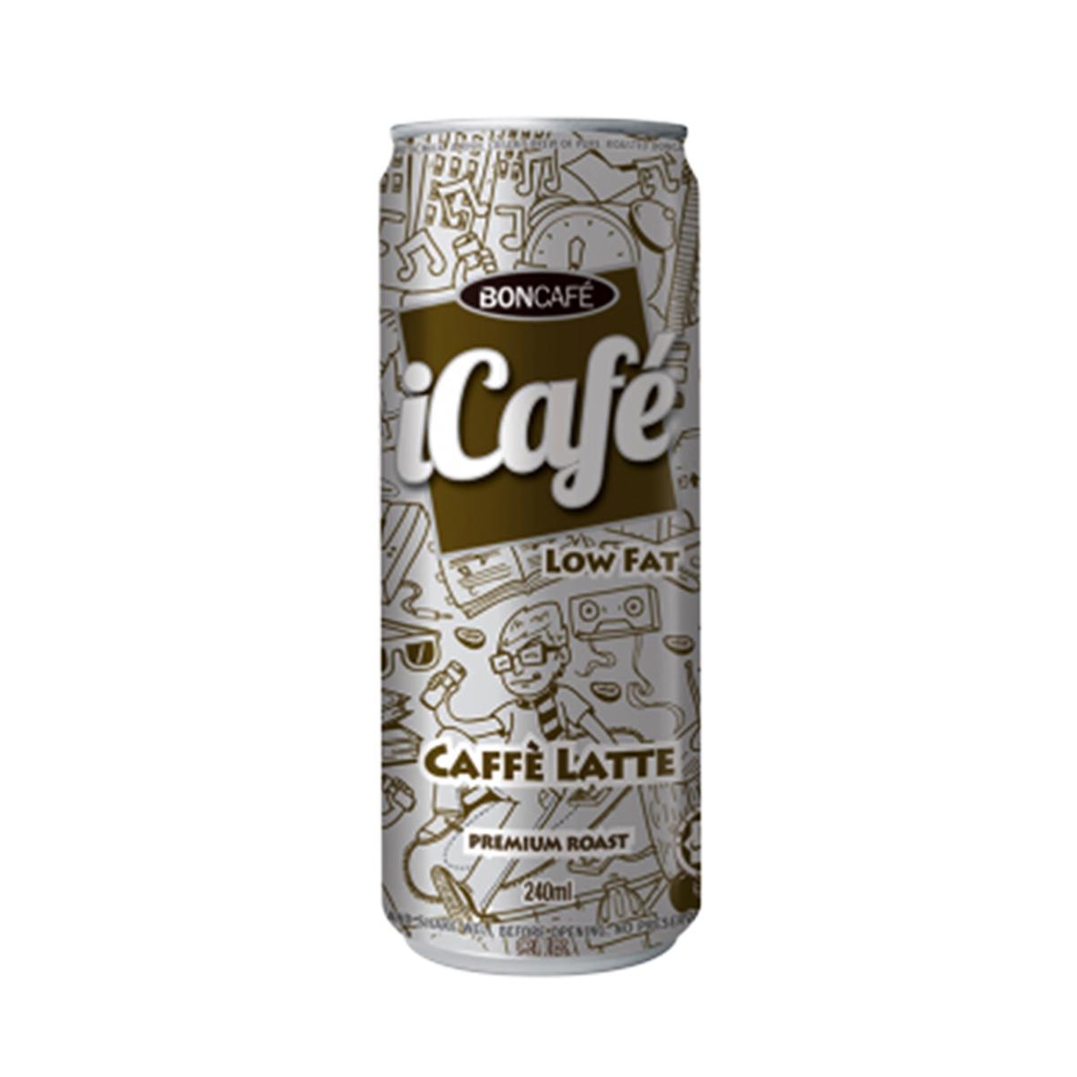 Cà phê lon Pháp vị Latte Icafe 240ml