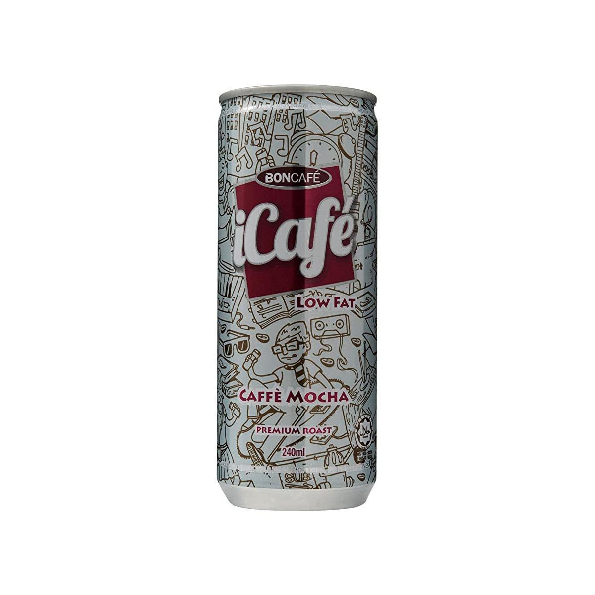 Cà phê lon Pháp vị Mocha Icafe 240ml
