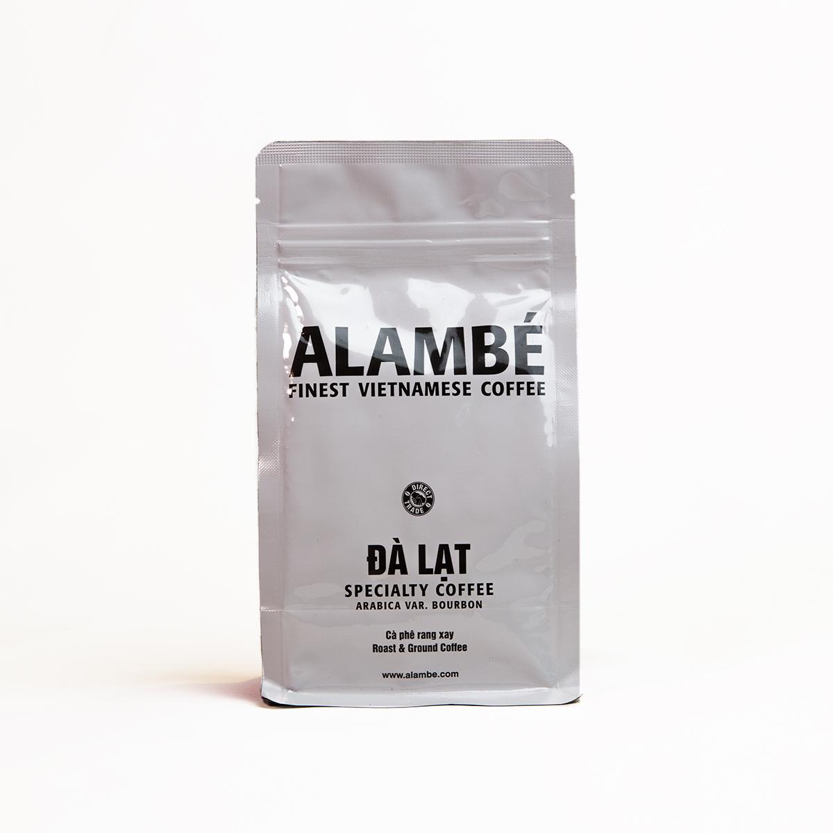 Cà phê rang xay đặc biệt Đà Lạt ALAMBÉ 230g