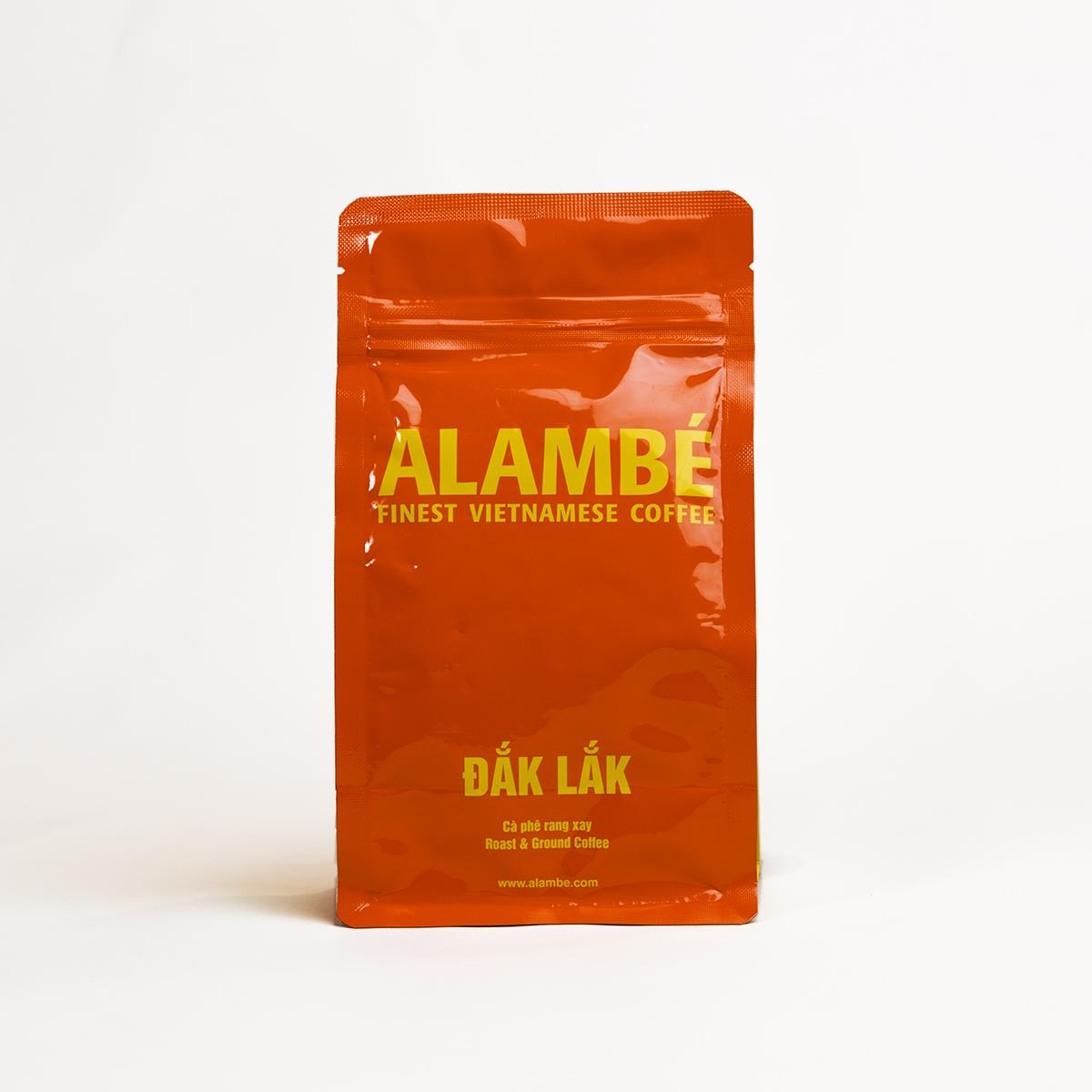 Cà phê rang xay Đắk Lắk ALAMBÉ 230g