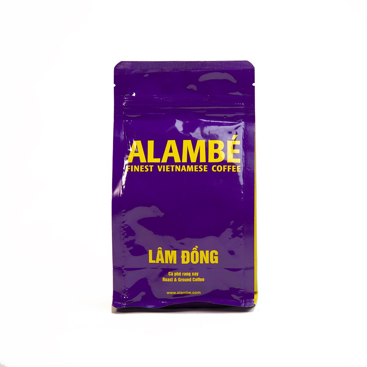 Cà phê rang xay Lâm Đồng ALAMBÉ 230g
