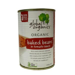 Đậu hầm HỮU CƠ - Đậu Hầm trong cà chua 400g