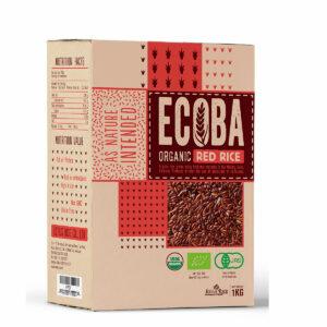 Gạo Hữu Cơ Ecoba Huyết Rồng 1kg