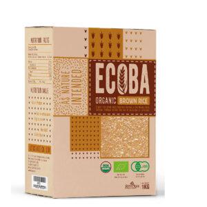 Gạo hữu cơ Ecoba Kim Mễ 1kg