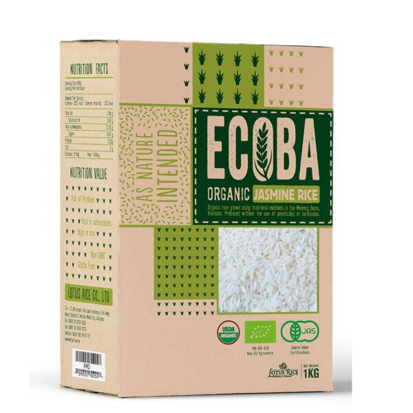Gạo Hữu Cơ Ecoba Ngọc Mễ 1kg