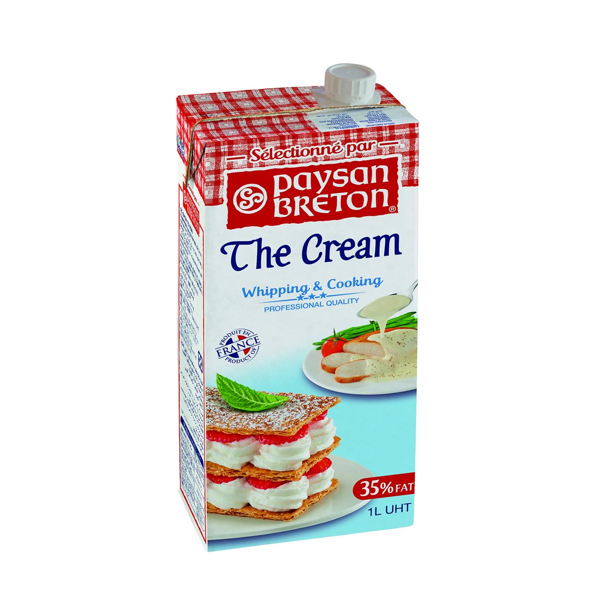 Whipping cream PB 1L - Kem sữa PB 1L - Sản phẩm hữu cơ, nhập khẩu