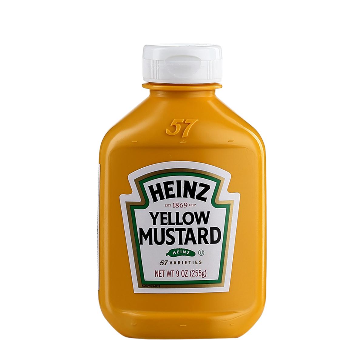 Mù tạt vàng Heinz 255g