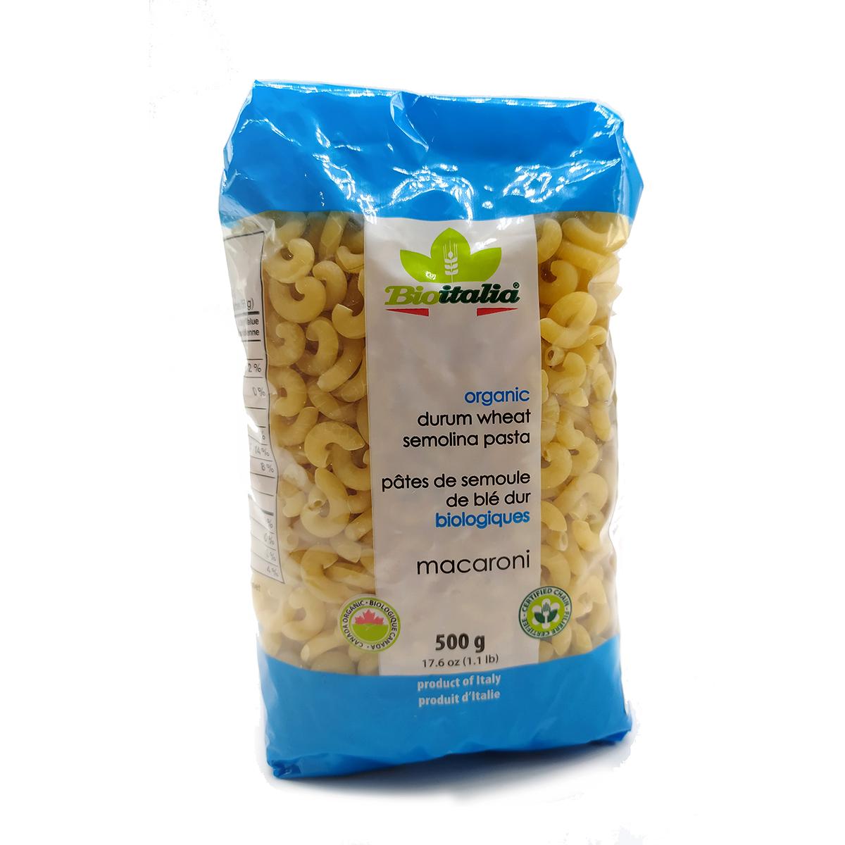 Nui macaroni hữu cơ 500g