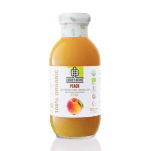 Organic Pure Peach Juice 300ml - Nước Đào Hữu Cơ 300ml - Sản phẩm hữu cơ, nhập khẩu