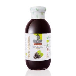 Organic Pure Mulberry Juice 300ml - Nước Dâu Tằm Hữu Cơ 300ml - Sản phẩm hữu cơ, nhập khẩu