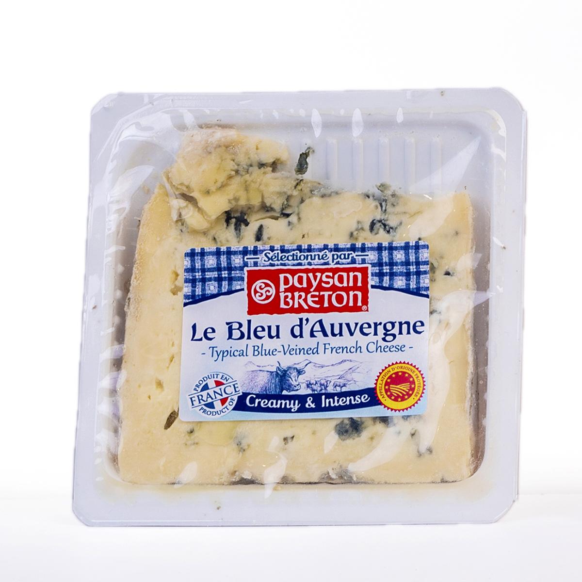 Cheese Bleu D'Auvergne PB 125g - Phô mai Bleu D'Auvergne PB 125g - Sản phẩm hữu cơ, nhập khẩu