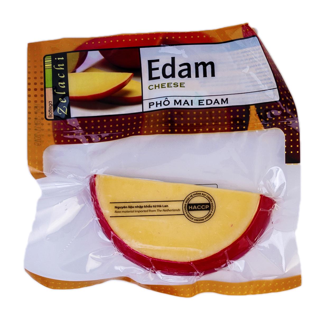 Cheese Edam Bottega Zelachi 100g - Phô mai Edam Bottega Zelachi 100g - Sản phẩm hữu cơ, nhập khẩu