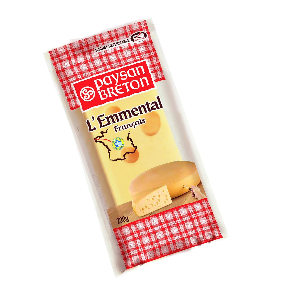 Cheese L'Emmental PB 220g - Phô mai L'Emmental PB 220g - Sản phẩm hữu cơ, nhập khẩu