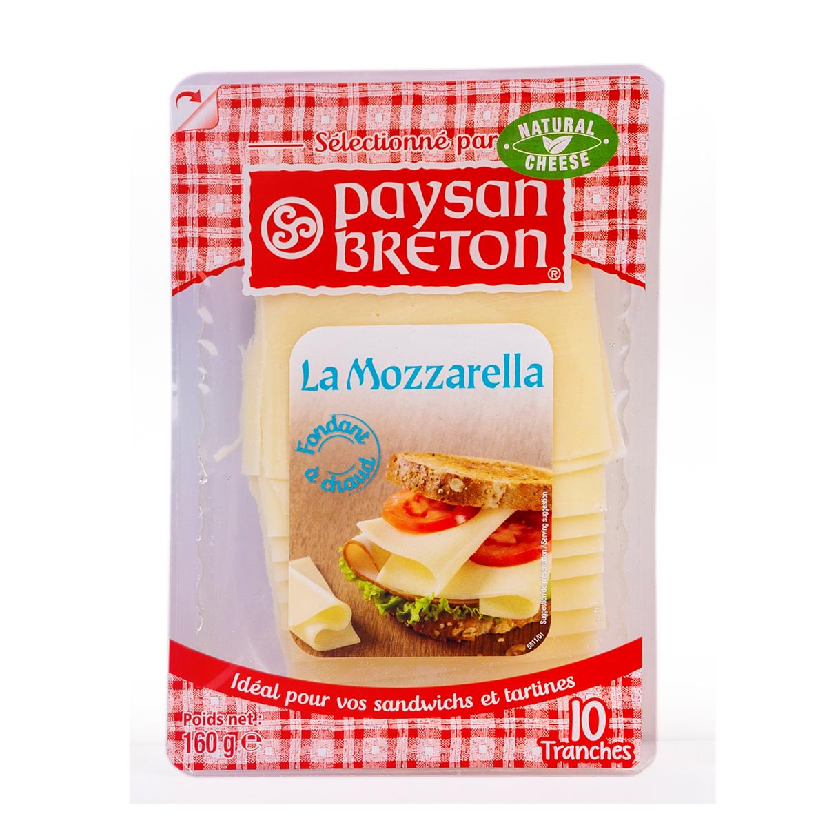 Cheese Mozzarella PB lát 160g - Phô mai Mozzarella PB lát 160g - Sản phẩm hữu cơ, nhập khẩu