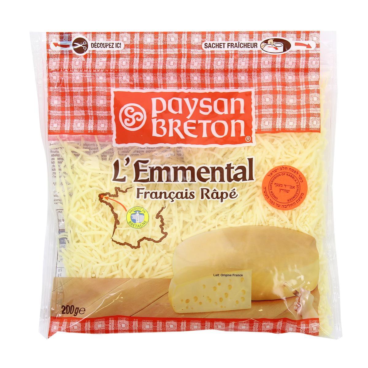Cheese string Emmental Paysan Breton 200g - Phô mai sợi Emmental Paysan Breton 200g - Sản phẩm hữu cơ, nhập khẩu