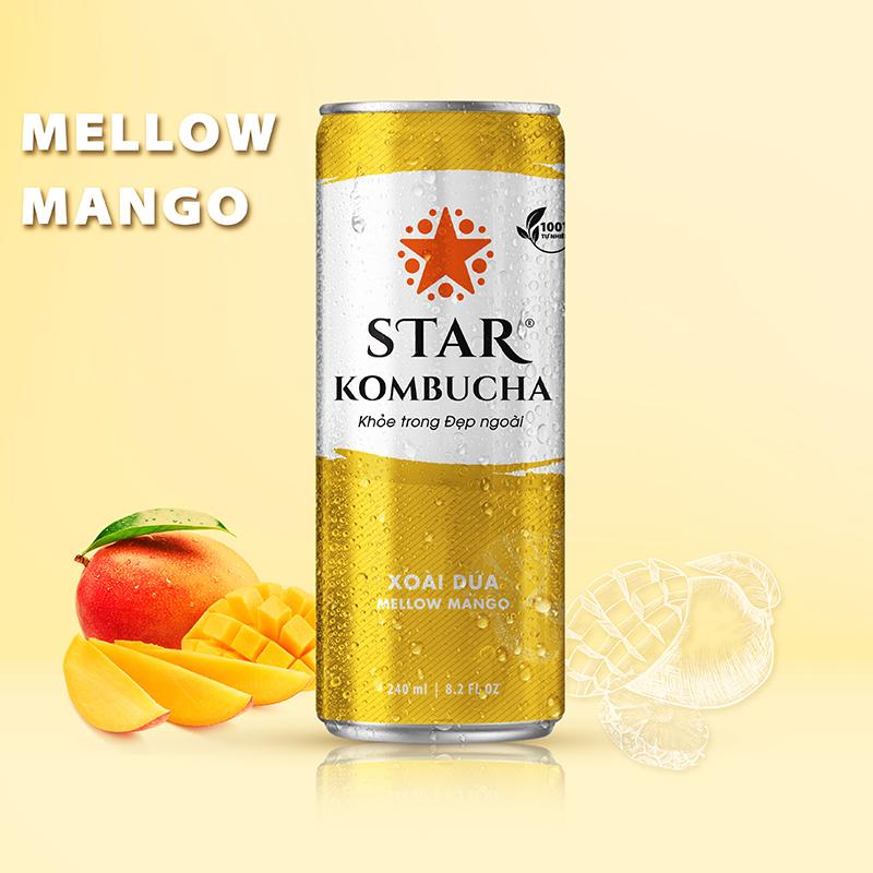 Star Kombucha Xoài Dứa 240ml