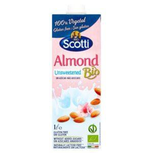 BIO - Almond Unsweetened - Sữa Hạnh Nhân BIO Không Ngọt - Sản phẩm hữu cơ, nhập khẩu