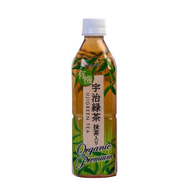 Trà xanh hữu cơ Uji Green Tea 500ml