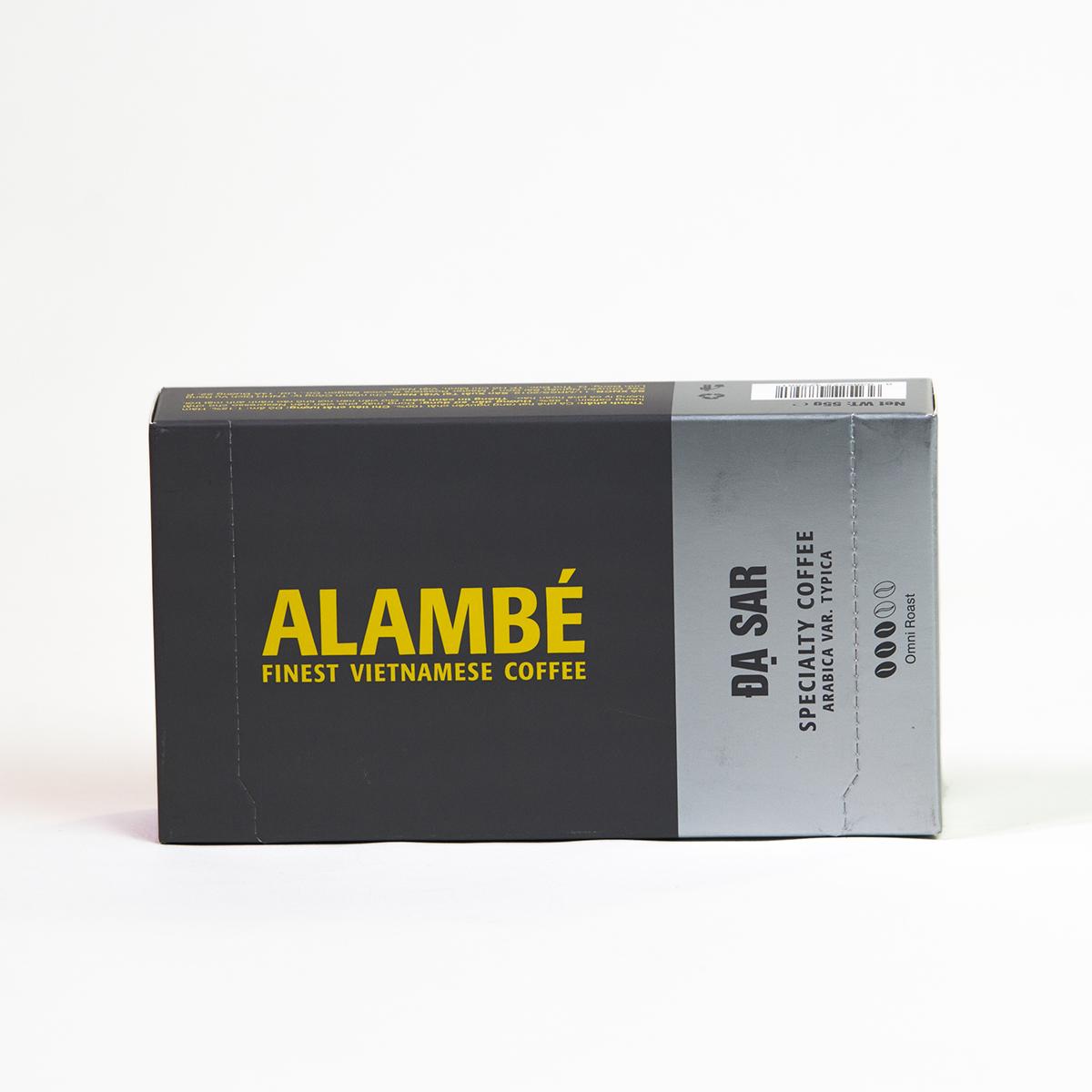 Viên nén cà phê đặc biệt Đạ Sar ALAMBÉ 55g