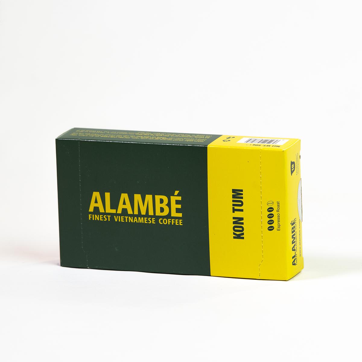 Viên nén cà phê Kon Tum ALAMBÉ 55g