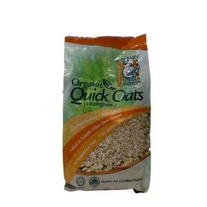 Organic Instant Oats 500g - Yến mạch ăn liền Hữu Cơ 500g - Sản phẩm hữu cơ, nhập khẩu